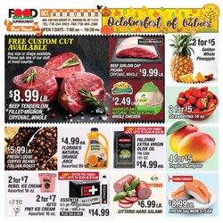 Food Bazaar deals in the Food Bazaar catalog ( 3 days left)