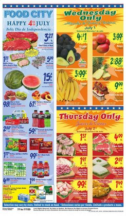Food City catalogue ( Expires today )