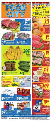 Grocery & Drug offers in the Food City catalogue in Tucson AZ ( Published today )