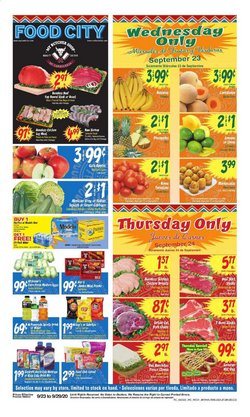 Food City catalogue in Scottsdale AZ ( 1 day ago )
