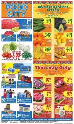 Food City catalogue ( 1 day ago )