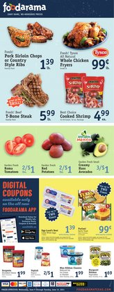 Grocery & Drug deals in the Foodarama catalog ( 3 days left)