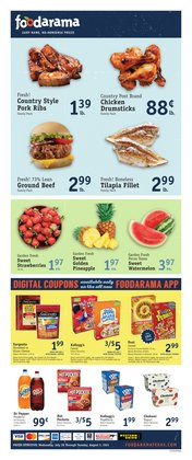 Grocery & Drug deals in the Foodarama catalog ( Published today)
