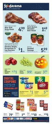 Foodarama deals in the Foodarama catalog ( 1 day ago)