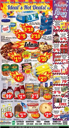 Ideal Market deals in the New Orleans LA weekly ad
