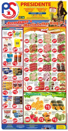 Presidente deals in the Miami FL weekly ad