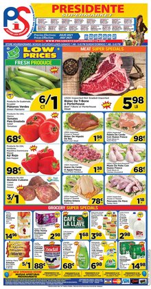 Grocery & Drug deals in the Presidente catalog ( Expires tomorrow)