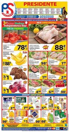 Grocery & Drug deals in the Presidente catalog ( 2 days left)
