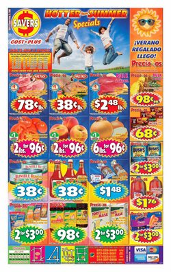 Savers Cost Plus deals in the Dallas TX weekly ad