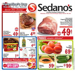 Sedano's deals in the Miami FL weekly ad