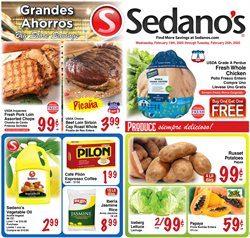 Grocery & Drug offers in the Sedano's catalogue in Hialeah FL ( Expires tomorrow )