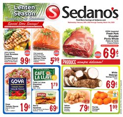 Grocery & Drug offers in the Sedano's catalogue in Hollywood FL ( 1 day ago )