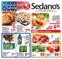 Grocery & Drug offers in the Sedano's catalogue in Fort Lauderdale FL ( Expires tomorrow )