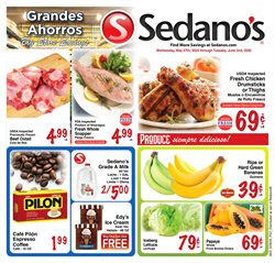 Grocery & Drug offers in the Sedano's catalogue in Miami FL ( Expires tomorrow )