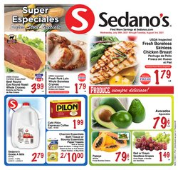Grocery & Drug deals in the Sedano's catalog ( 5 days left)