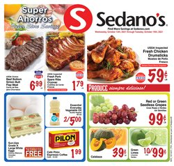 Grocery & Drug deals in the Sedano's catalog ( 2 days left)