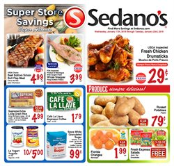 Grocery & Drug deals in the Sedano's weekly ad in Miami FL