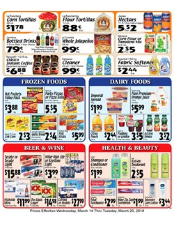 Deodorant deals in the Sellers Bros weekly ad in Humble TX