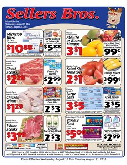 Grocery & Drug deals in the Sellers Bros weekly ad in Humble TX