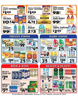 Cleaners deals in the Sellers Bros weekly ad in Sugar Land TX