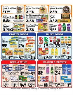 Water deals in the Sellers Bros weekly ad in Humble TX