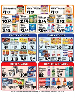 Budweiser deals in the Sellers Bros weekly ad in Humble TX