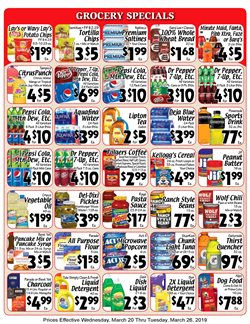 Tide deals in the Sellers Bros weekly ad in Humble TX