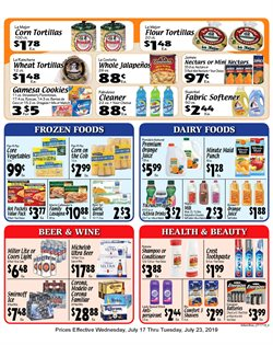 Sellers Bros deals in the Houston TX weekly ad
