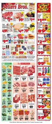 Grocery & Drug offers in the Sellers Bros catalogue in Humble TX ( 2 days ago )