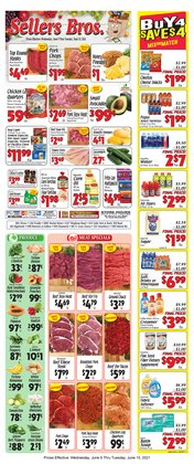 Grocery & Drug deals in the Sellers Bros catalog ( 3 days left)