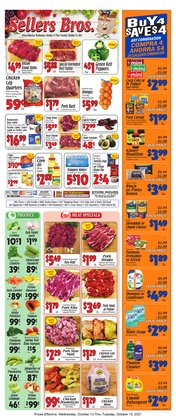 Sellers Bros deals in the Sellers Bros catalog ( Expires today)