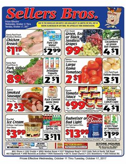 Barbecue deals in the Sellers Bros weekly ad in Houston TX