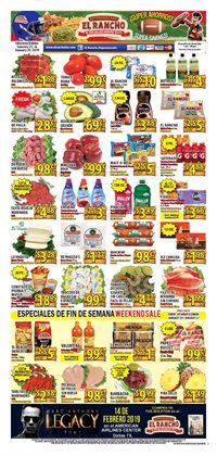 Supermercado El Rancho deals in the Dallas TX weekly ad