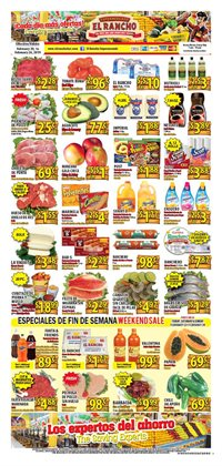 Grocery & Drug deals in the Supermercado El Rancho weekly ad in Dallas TX