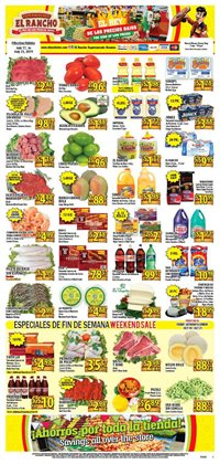 Supermercado El Rancho deals in the Houston TX weekly ad