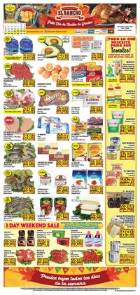 Supermercado El Rancho deals in the Fort Worth TX weekly ad
