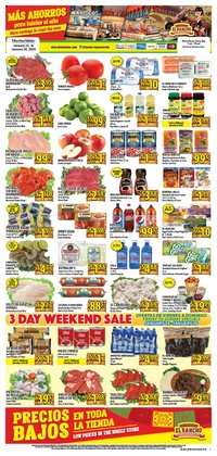 Supermercado El Rancho deals in the Arlington TX weekly ad