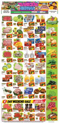 Grocery & Drug offers in the Supermercado El Rancho catalogue in Houston TX ( 1 day ago )