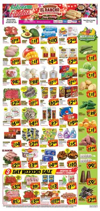 Supermercado El Rancho catalogue ( 2 days ago )