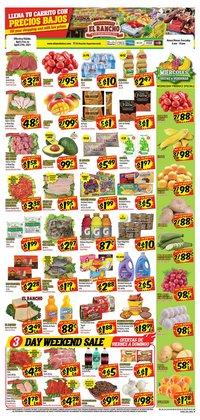 Supermercado El Rancho catalogue ( Published today )