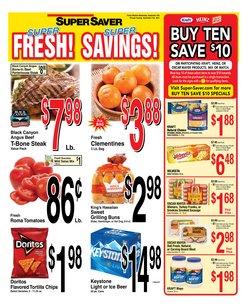 Grocery & Drug deals in the Super Saver catalog ( 2 days left)