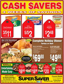 Super Saver deals in the Lincoln NE weekly ad