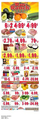 Rio Ranch Market deals in the Fontana CA weekly ad