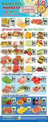 Rancho Markets deals in the Orem UT weekly ad