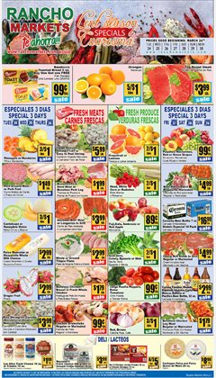 Rancho Markets catalogue ( 2 days left )