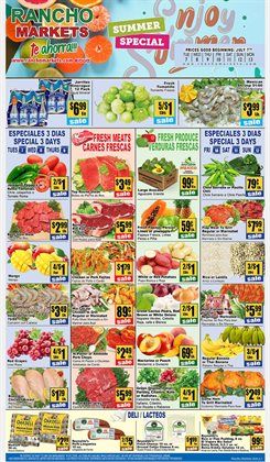 Rancho Markets catalogue ( 3 days left )
