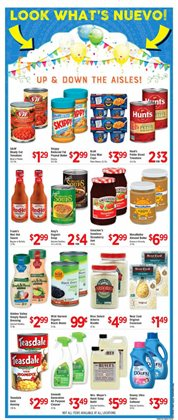 Nails deals in the Vallarta Supermarkets weekly ad in Whittier CA