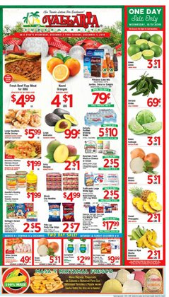 Vallarta Supermarkets deals in the Reseda CA weekly ad
