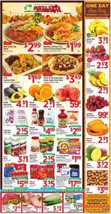Vallarta Supermarkets deals in the San Diego CA weekly ad