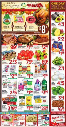 Vallarta Supermarkets deals in the Escondido CA weekly ad